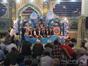 مسجد امام خمینی(ره) کیانشهر میزبان محفل قرآنی