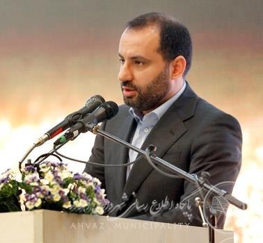 شهردار اهواز عنوان کرد: شتاب بیشتر توسعه اهواز با حضور قرارگاه خاتم الانبیا (ص)
