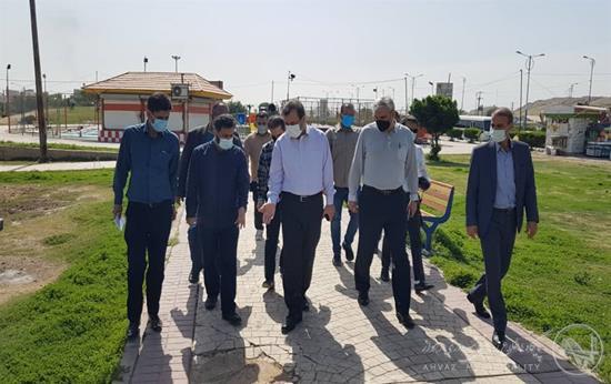 شهردار منتخب در بازدید از منطقه ۳: لزوم اعمال قانون در خصوص متجاوزان به حریم عمومی