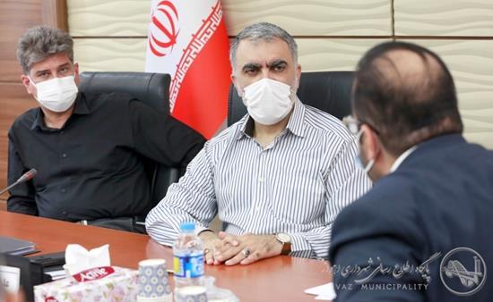 برگزاری دیدار مردمی سرپرست شهرداری اهواز در آستانه نزدیک شدن به هفته دفاع مقدس